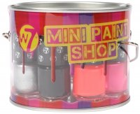 W7 - MINI PAINT SHOP - Set of mini nail varnishes