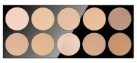 Pierre René - COMPACT POWDER - Professional palette of 10 powders