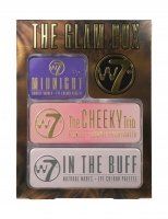 W7 - THE GLAM BOX - Set of three makeup palettes
