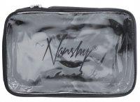 Nanshy - TRAVEL COSMETIC POUCH - (MEDIUM Clear PVC Set Bag)