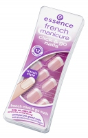 Essence - FRENCH manicure click & go nails - Artificial nails - 847312