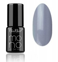NeoNail - MONO UV 3 IN 1 LACK - Hybrid Varnish - 4398 Silver Grey - 4398 Silver Grey