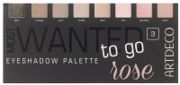 ARTDECO - MOST WANTED TO GO - EYESHADOW PALETTE - 3 ROSE