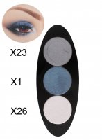 Glazel - EYE Ellipse - Magnetic eyeshadow palette - STORM