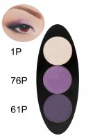 Glazel - EYE Ellipse - Magnetic eyeshadow palette - SUNSET