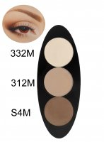 Glazel - EYE Ellipse - Magnetic eyeshadow palette - NUDE