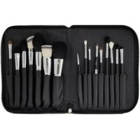LancrOne - Set of 16 make-up brushes + case