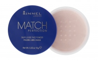 RIMMEL - MATCH PERFECTION - SILKY LOOSE FACE POWDER - Transparent 001