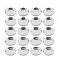 Z Palette - ROUND METAL PANS - 20 pieces
