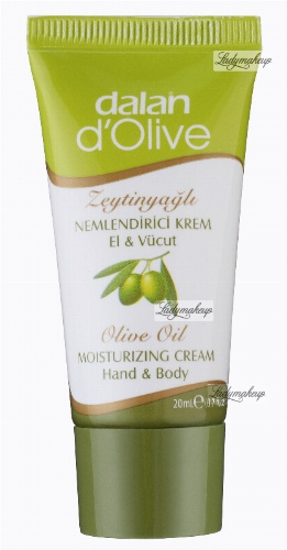 Dalan d'Olive - 100% Olive moisturizing body and hands cream - 20 ml