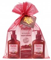 VitalDerm - HAIR CARE BASED ON ARGAN OIL (shampoo, conditioner, repair serum)