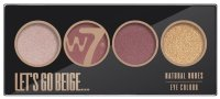 W7 - LET'S GO BEIGE ... - NATURAL NUDES EYE COLOR PALETTE
