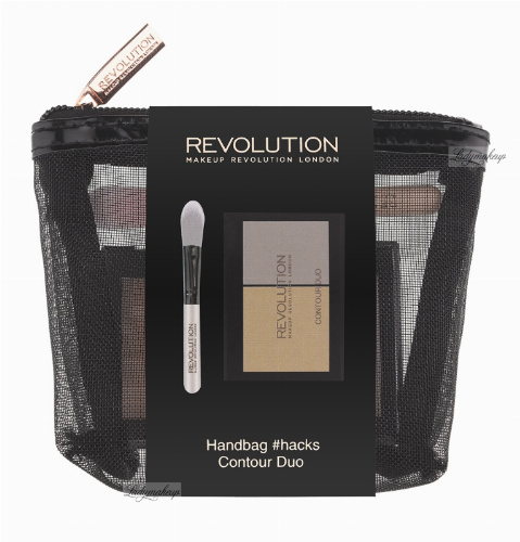MAKEUP REVOLUTION - HANDBAG #HACKS CONTOUR DUO