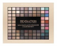 MAKEUP REVOLUTION - 144 ULTIMATE MATTE EYESHADOW COLLECTION 2017