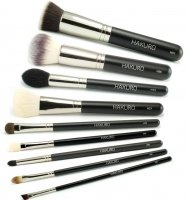 Hakuro - Set of 9 make-up brushes