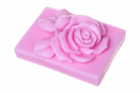 LaQ - Happy Soaps - Natural Glycerin Soap - PINK ROSE CUBE