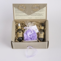 LaQ - A set of natural cosmetics - Hyaluronic Acid, Seeds of Cannabis Seed + FREE Glycerin Soap!