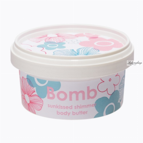 Bomb Cosmetics - Sunkissed Shimmer - Body Butter - 30% Shea