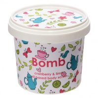 Bomb Cosmetics - Cranberry & Lime - Oil Based Body Scrub