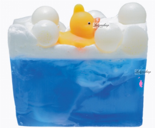 Bomb Cosmetics - Pool Party Soap Slice - Glycerine Soap - Lavender duck