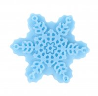 LaQ - Happy Soaps - Natural Glycerin Soap - BLUE SNOWFLAKE