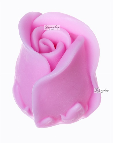 LaQ - Happy Soaps - Natural Glycerin Soap - PINK ROSE FLOWER