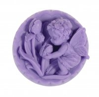 LaQ - Happy Soaps - Natural glycerine soap - VIOLET ANGEL