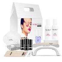 NeoNail - STARTER SET - Hybrid Manicure Starter Kit with White 9W Lamp - 5028-2
