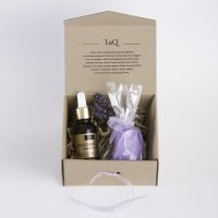 LaQ - Set of natural cosmetics - Hyaluronic Acid + Glycerin soap!