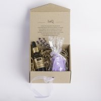 LaQ - Set of natural cosmetics - Plum seed oil + Glycerin soap free!