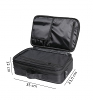 Black cosmetic bag - SMALL - 16BCB033 - C