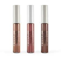 FREEDOM - PRO MELTS - NAKED - Long Lasting & Intense Color Collection - 3 lip glosses