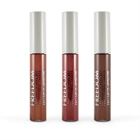 FREEDOM - PRO MELTS - STRIPPED - Long Lasting & Intense Color Collection - 3 lip glosses