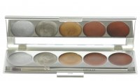 Kryolan - Palette of 5 Metallic Eyeshadows