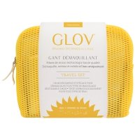 GLOV - HYDRO DEMAQUILLAGE - MAKEUP REMOVER - TRAVEL SET - YELLOW