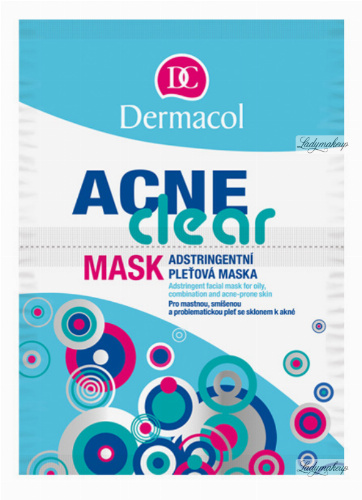 Dermacol - Acne Clear Mask - Mask for oily, mixed and acne skin