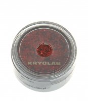 Kryolan - Body Glitter - Thick - 25/90 - BRIGHT RED