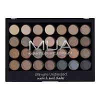 MUA - Ultimate Undressed - Matte & Pearl Shades