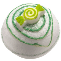 Bomb Cosmetics - Dizzy Fizzy - Sparkling Bath Ball - LEMON CANDY