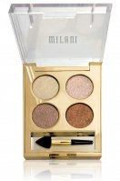 MILANI - Fierce Foil Eyeshine - Set of 4 foil eyeshadows - 01 MILAN