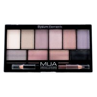 MUA - Eyeshadow Palette - Elysium Elements - Palette of 10 eye shadows + double eye crayon