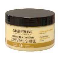 MASTERLINE - CRYSTAL SHINE MASK - Dull and brittle hair - Linseeds