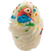 Bomb Cosmetics - Shake your Tail Feather Bath Mallow - Moisturizing Bath bun