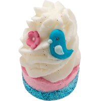 Bomb Cosmetics - Bluebird of Paradise Bath Mallow - Moisturizing Bath Bun