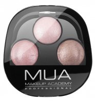 MUA - TRIO EYESHADOW