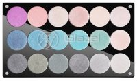 Glazel - Palette 18 Eye Shadow - 2 (METALLIC)