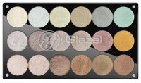 Glazel - Palette of 18 eyeshadows - 1 (METALLIC)
