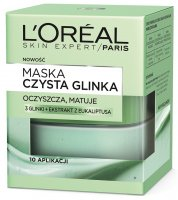 L'Oréal - PURE CLAY MASK - Cleansing and matting