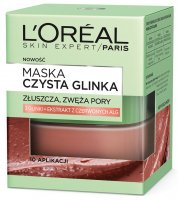L'Oréal - PURE CLAY MASK - Exfoliating and narrowing pores