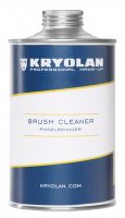 Kryolan - Liquid for washing and disinfecting brushes - 500 ml